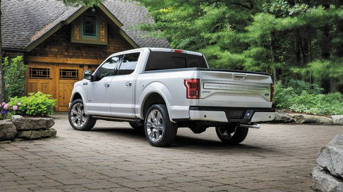 ​Ngắm xe sang Ford F-150 Limited 2016